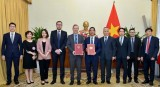 Hiệp định thương mại tự do Việt Nam-Anh sẽ có hiệu lực từ 1/5