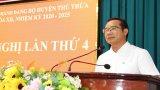 Thủ Thừa: Hội nghị Huyện ủy lần thứ 4