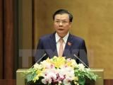 Bộ trưởng Bộ Tài chính Đinh Tiến Dũng được phân công giữ chức Bí thư Thành ủy Hà Nội