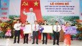 Xã Long Hòa được công nhận đạt chuẩn nông thôn mới