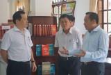 Đoàn công tác Bộ Văn hóa, Thể thao và Du lịch kiểm tra lĩnh vực thư viện tại huyện Bến Lức