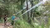 Khu bảo tồn Đất ngập nước Láng Sen: Chủ động công tác phòng cháy, chữa cháy rừng