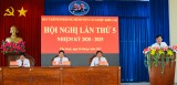 Cần Giuộc họp Ban Chấp hành Đảng bộ huyện lần thứ 5