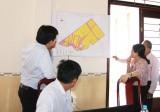 Sở Nông nghiệp và Phát triển nông thôn khảo sát vùng lúa ứng dụng công nghệ cao tại Thủ Thừa