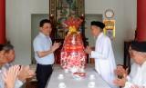 Phó Bí thư Thường Trực Tỉnh ủy thăm Ban đại diện Hội thánh Cao đài Ban chỉnh đạo tỉnh Long An
