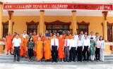 Phó Chủ tịch QH Trần Thanh Mẫn chúc Tết Chol Chnam Thmay tại Sóc Trăng