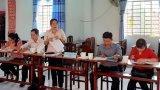 Kiểm tra các danh hiệu văn hóa tại xã Bình Hòa Tây