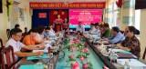 Kiểm tra công tác chuẩn bị bầu cử tại huyện Mộc Hóa