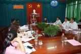 Kiểm tra công tác chuẩn bị bầu cử tại huyện Thạnh Hóa
