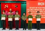 Công an Long An khen thưởng các tập thể, cá nhân đạt thành tích xuất sắc trong thực hiện Chỉ thị 05, Chỉ thị 04 và Cuộc vận động