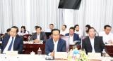 Bí thư Tỉnh ủy - Nguyễn Văn Được tiếp và làm việc với Đại sứ Hàn Quốc
