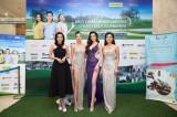 Dàn hoa hậu, á hậu khoe sắc trong đêm Gala từ thiện tại Long An