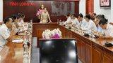 Chủ tịch UBND tỉnh Long An yêu cầu có chỉ tiêu cụ thể trong giải ngân vốn cho các dự án đầu tư công