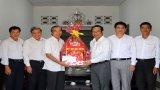 Bí thư Tỉnh ủy Long An thăm, tặng quà các cơ sở tôn giáo tại Bến Lức