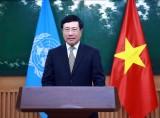 PTT Phạm Bình Minh gửi thông điệp tới Khóa họp lần thứ 77 của UNESCAP