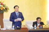Khai mạc Phiên họp thứ 55 của Ủy ban Thường vụ Quốc hội
