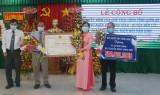 Xã Lương Bình đón nhận danh hiệu xã đạt chuẩn nông thôn mới