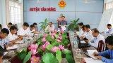 HĐND tỉnh Long An giám sát kết quả thực hiện xây dựng nông thôn mới tại huyện Tân Hưng