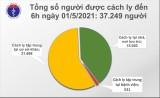 Chiều 1/5, Việt Nam có thêm 3 ca mắc cộng đồng ở Hà Nam, 11 ca nhập cảnh