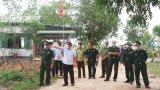 Chủ tịch UBND tỉnh Long An-Nguyễn Văn Út kiểm tra công tác phòng, chống Covid-19 trên tuyến biên giới