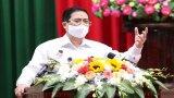 Thủ tướng Phạm Minh Chính: Cần hết sức bình tĩnh, tỉnh táo trong phòng chống dịch Covid-19