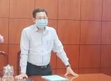 Phó Chủ tịch HĐND tỉnh - Mai Văn Nhiều kiểm tra công tác bầu cử tại huyện Đức Huệ
