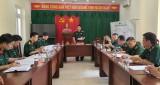 Kiểm tra công tác kỹ thuật tại Đồn Biên phòng Cửa khẩu Quốc tế Bình Hiệp