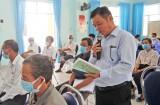 Ứng cử viên đại biểu Quốc hội khóa XV tiếp xúc cử tri TP.Tân An
