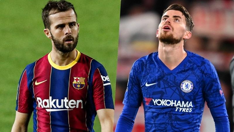 Barca xem xét dùng Pjanic để thuyết phục Chelsea nhả Jorginho