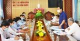 Phó Chủ tịch UBND tỉnh Long An - Phạm Tấn Hòa kiểm tra công tác chuẩn bị bầu cử
