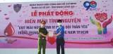 300 cán bộ, chiến sĩ cảnh sát cơ động tham gia hiến máu tình nguyện