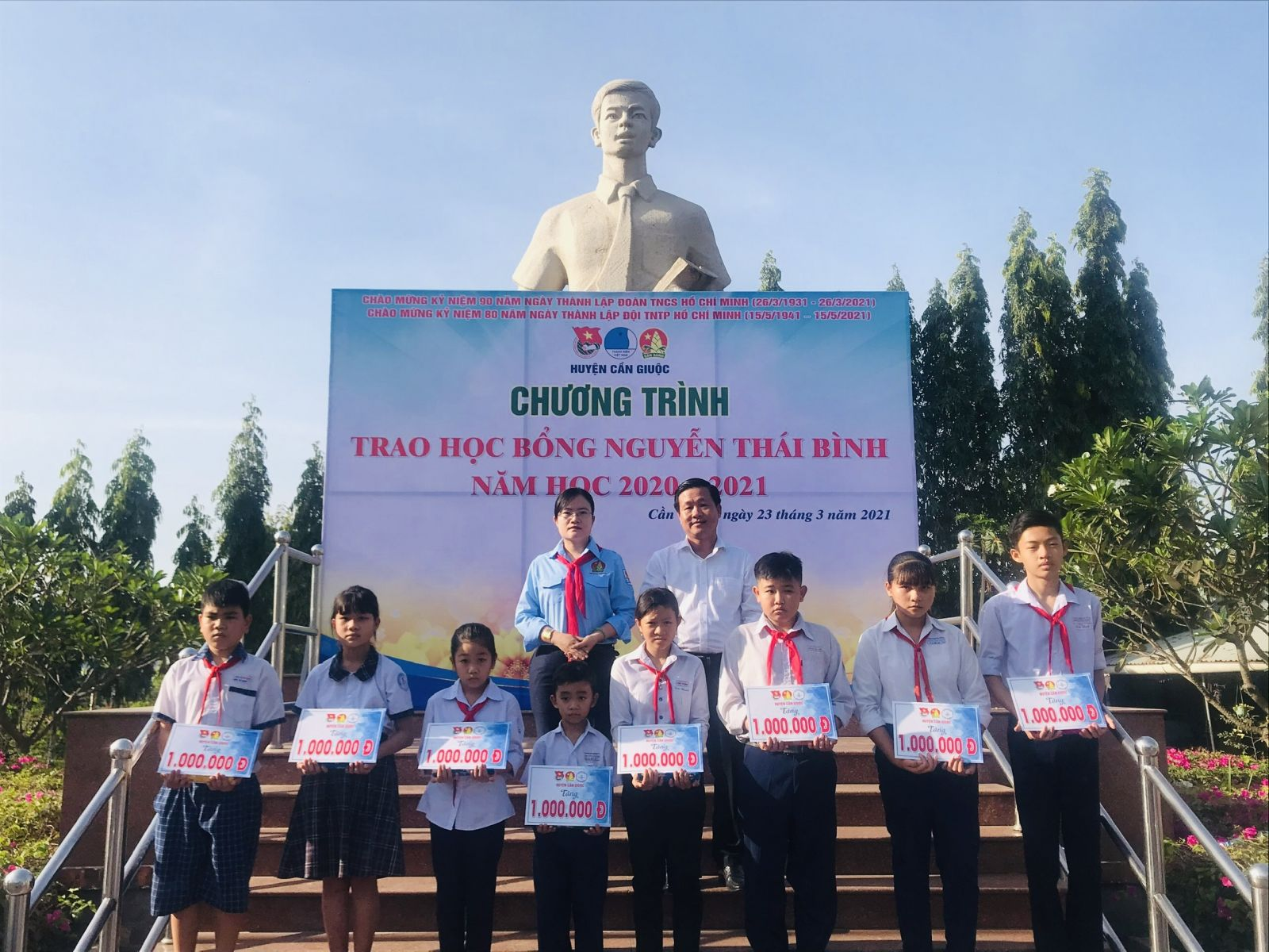 Từ năm 2021, Huyện đoàn quyết định đổi tên Quỹ học bổng Ước mơ xanh thành học bổng Nguyễn Thái Bình nhằm giáo dục truyền thống cho thế hệ trẻ và thể hiện lòng biết ơn với anh Nguyễn Thái Bình