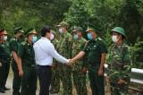 Phó chủ tịch UBND tỉnh thăm, động viên lực lượng làm nhiệm vụ tuyến biên giới Vĩnh Hưng, Tân Hưng