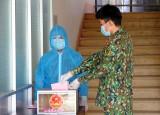 Lần bầu cử đáng nhớ tại khu cách ly tập trung