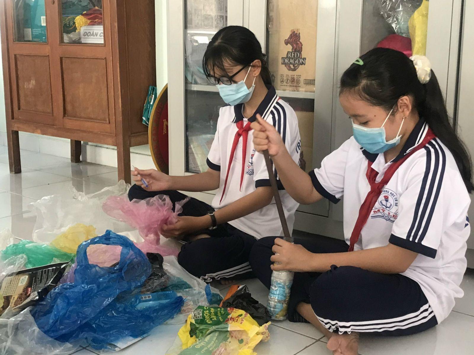 Hiện nay, Hội đồng Đội huyện Cần Đước có nhiều mô hình giáo dục kỹ năng sống cho đội viên, học sinh