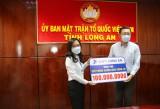 VNPT Long An ủng hộ 100 triệu đồng cho quỹ phòng, chống dịch Covid-19
