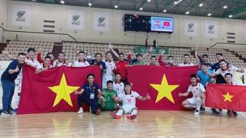 Vietnam in Group D of 2021 Futsal World Cup