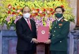 Thượng tướng Nguyễn Tân Cương giữ chức Tổng Tham mưu trưởng QĐND Việt Nam
