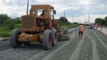 Công trình Đường tỉnh 830 giai đoạn 2 qua huyện Cần Đước còn vướng mặt bằng