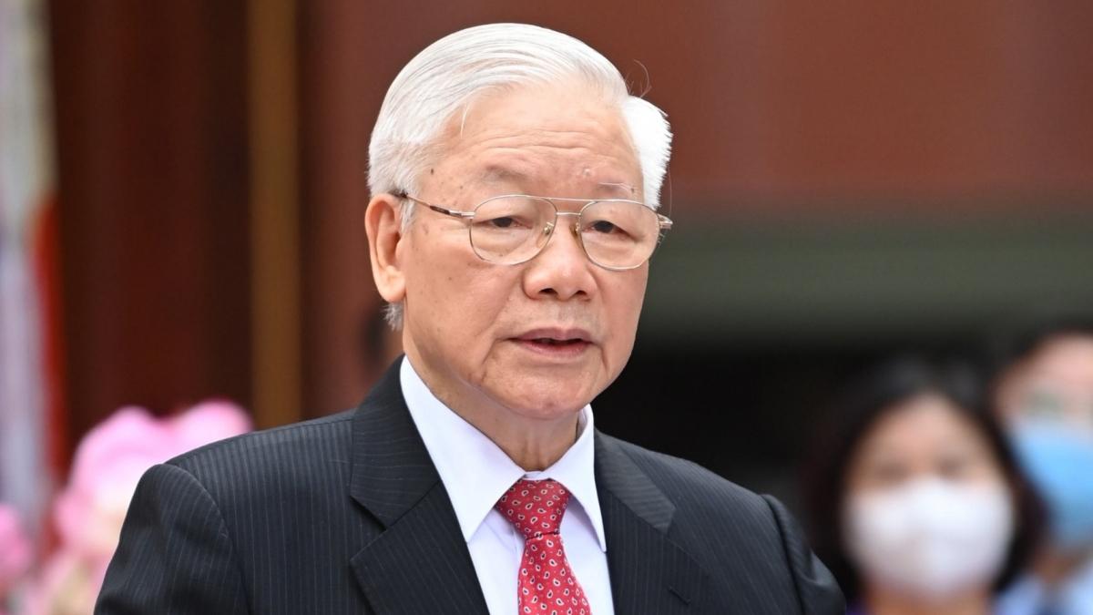 Tổng Bí thư Nguyễn Phú Trọng là một trong 499 ĐBQH khóa XV.