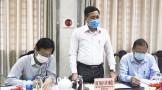HĐND tỉnh khảo sát công tác phòng, chống dịch bệnh Covid-19 tại thị xã Kiến Tường