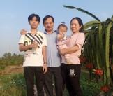 Hạnh phúc ở một gia đình công nhân tiêu biểu