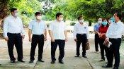 Phó Chủ tịch UBND tỉnh  - Phạm Tấn Hòa kiểm tra chuẩn bị kỳ thi tốt nghiệp THPT tại Cần Đước