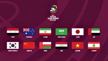 Xác định 12 đội vào vòng loại thứ 3 World Cup 2022 khu vực châu Á