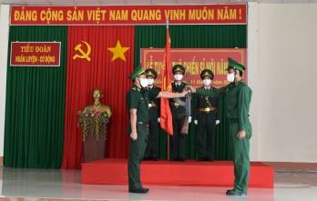 Thiêng liêng lời tuyên thệ của chiến sĩ mới