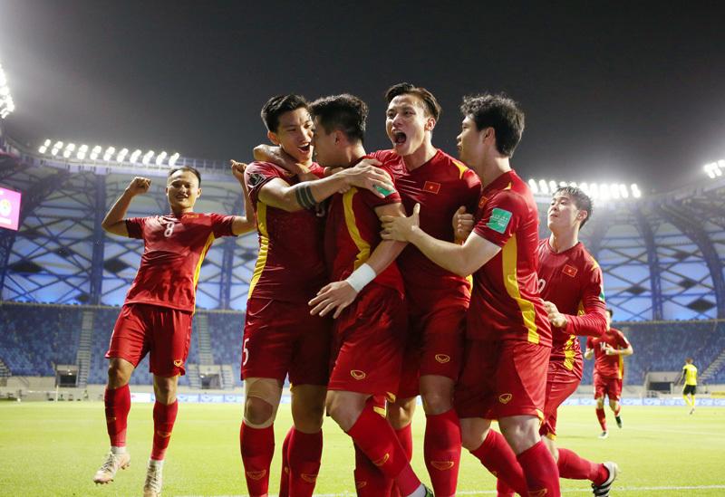 Tuyển Việt Nam giành tấm vé lọt vào vòng sơ loại thứ 3 World Cup 2022