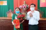 Bà Nguyễn Thị Trúc giữ chức Phó Bí thư Huyện ủy Tân Thạnh