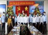 Lãnh đạo tỉnh Long An thăm, chúc mừng các cơ quan báo chí
