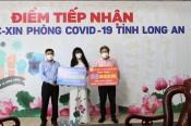 Công ty TNHH Tập đoàn An Nông ủng hộ 500 triệu đồng cho Quỹ vắc-xin phòng Covid-19 tỉnh Long An