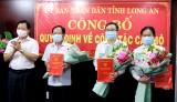 Long An: Bổ nhiệm Chánh văn phòng UBND tỉnh và Giám đốc Sở Công Thương